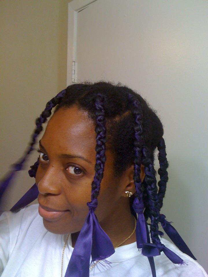 Hair Knotting Up Natural Hair