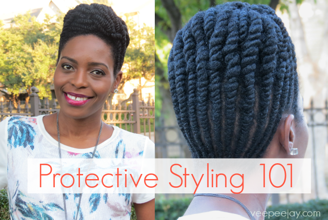 Protective Styling Natural Hair Basics Veepeejay