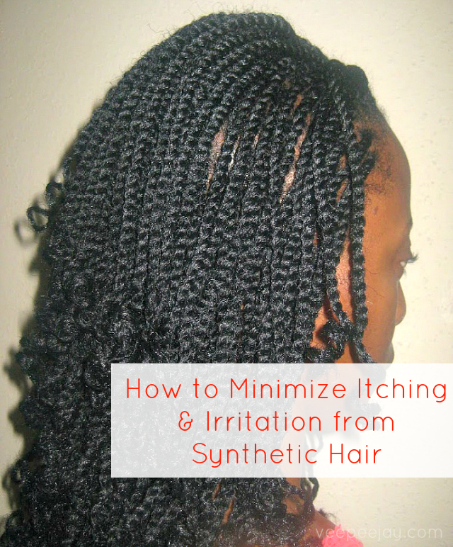 How to Minimize Itching from Synthetic Hair.