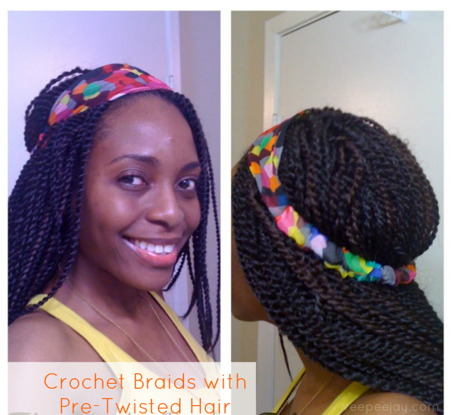 Pre Twisted Crochet Hair Styles : Hair Time Out: Crochet Braids (with Pre-twisted Hair) - VeePeeJay