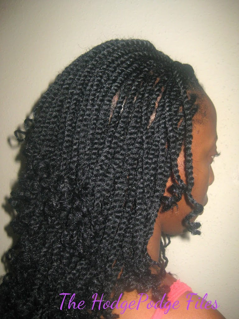 Crochet Braids For Work : Kinky Twists: The Crochet Braid Version - VeePeeJay