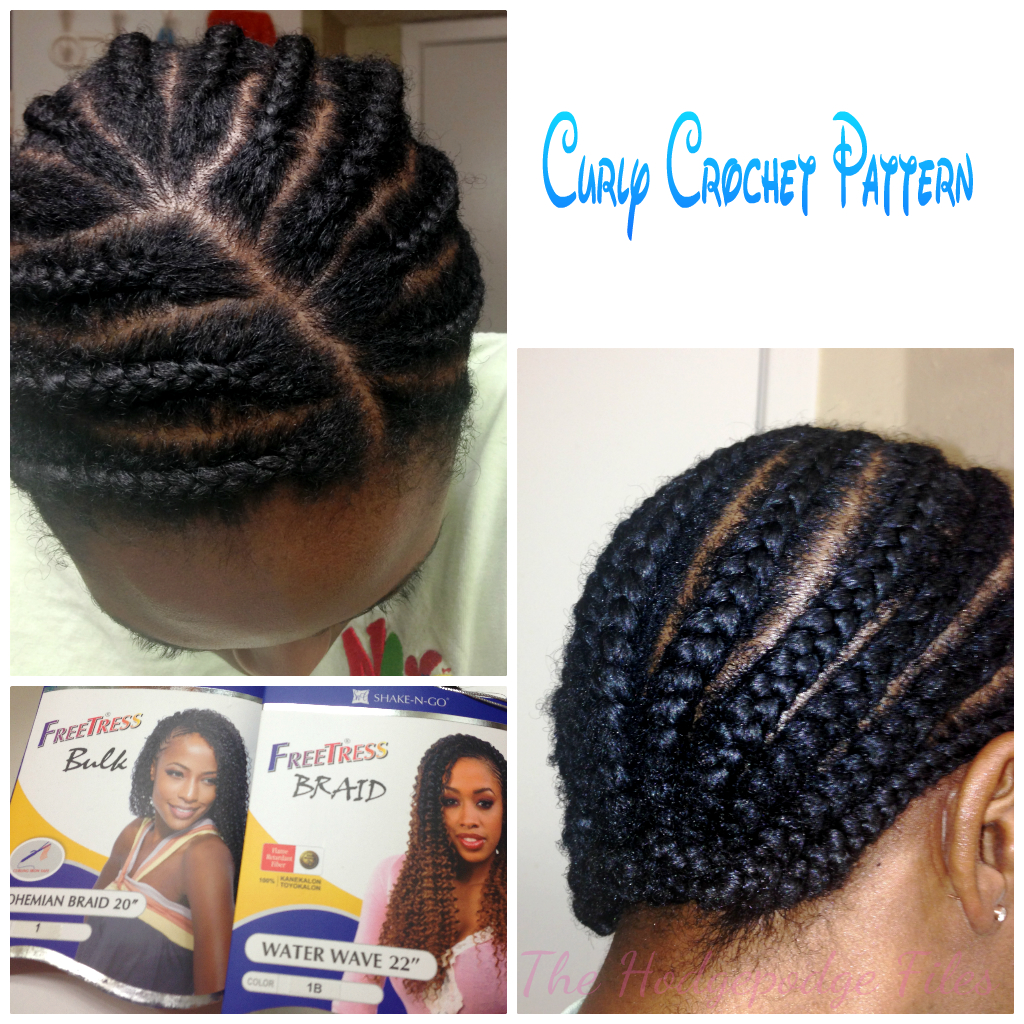 Crochet Braids With Curly Hair : Curly Crochet Braids with Freetress Bohemian/Waterwave Hair ...