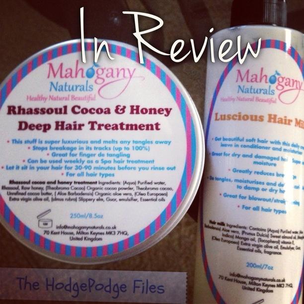 Mahogany Naturals Hair Products