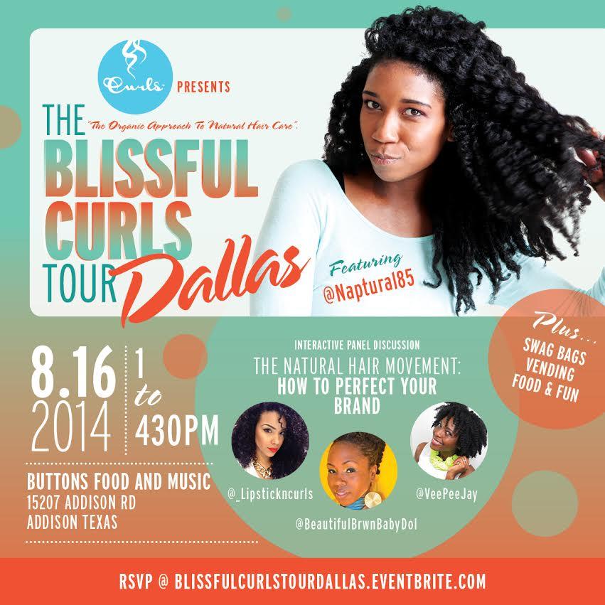 Blissful Curls Tour