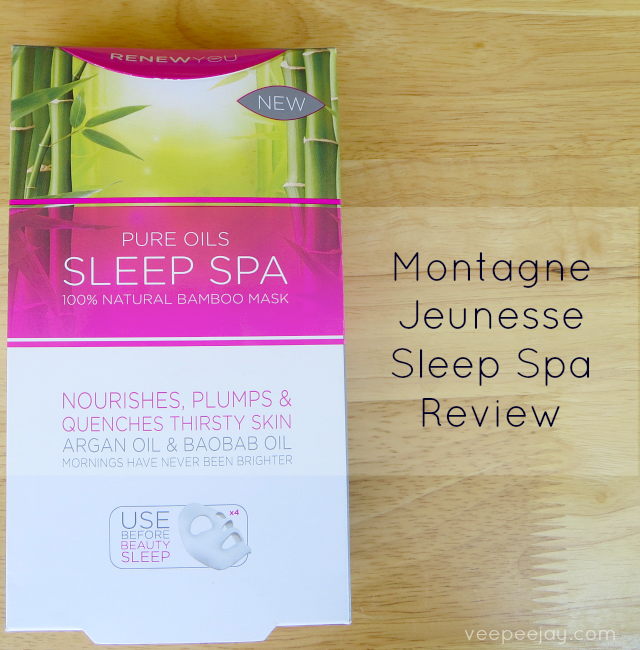 Montagne jeunesse renew you sleep spa mask review veepeejay for Jeunesse salon