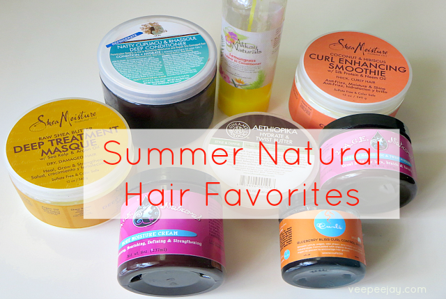 Favorite #Naturalhair Products for Summer