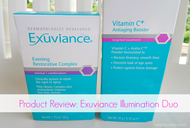 Exuviance Illumination Duo Review #exuviance