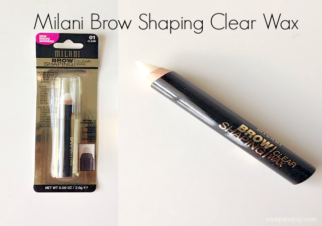 Milani Brow Shaping Clear Wax Review