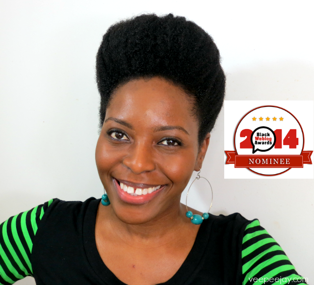 Vote for Me - Black Weblog Awards Nominee VeePeeJay