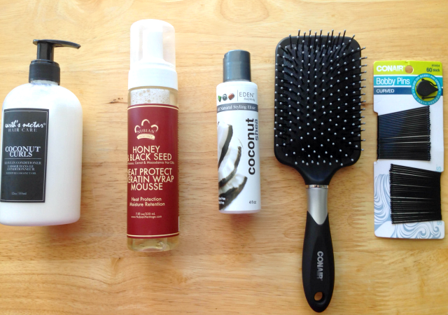 Easy Holiday Styles Using the Conair Curl Secret & Q3 Dryer.