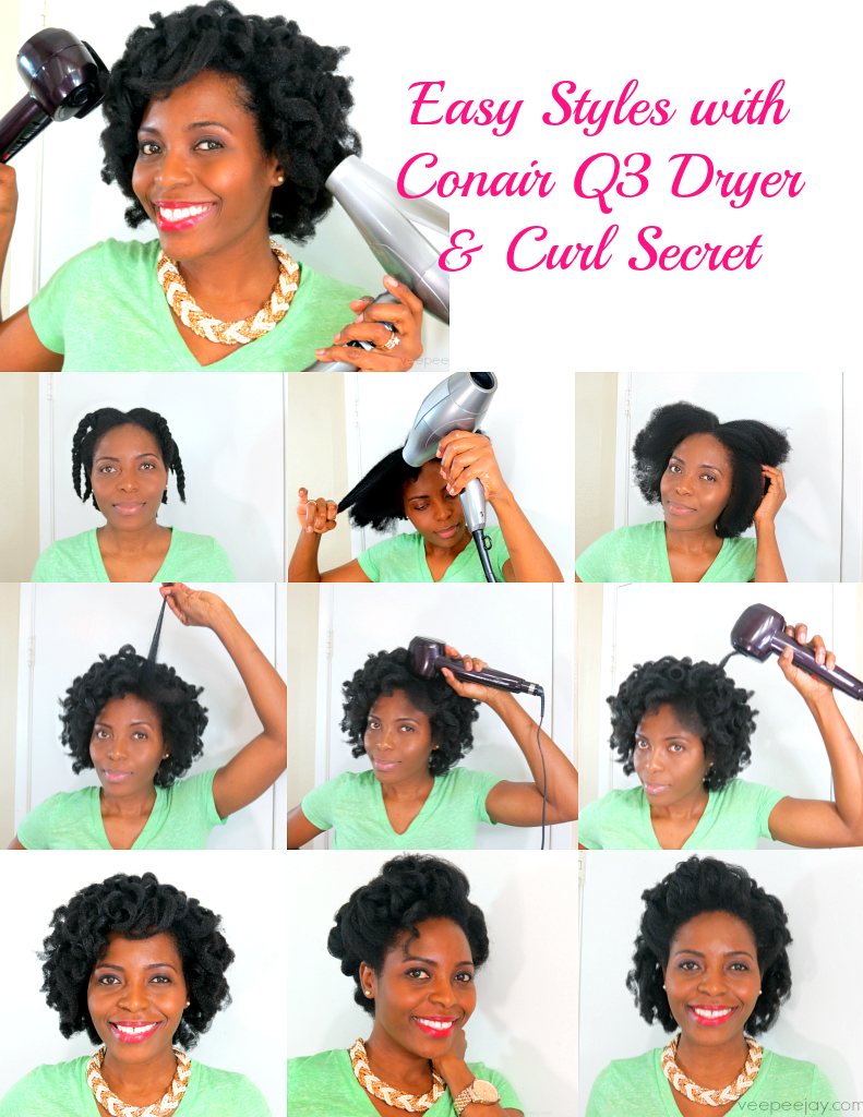 curl secret hair styles easy hair style using conair curl secret amp q3 dryer 5177