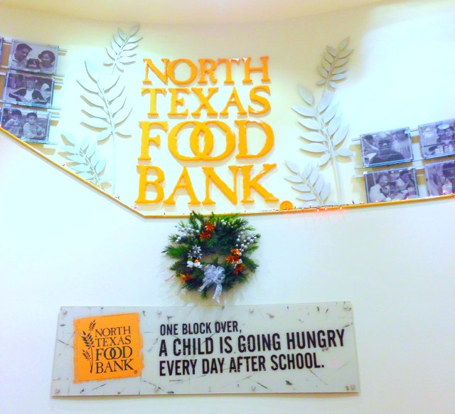 Volunteering at the North Texas Food Bank is a great way to give back especially during the holidays.