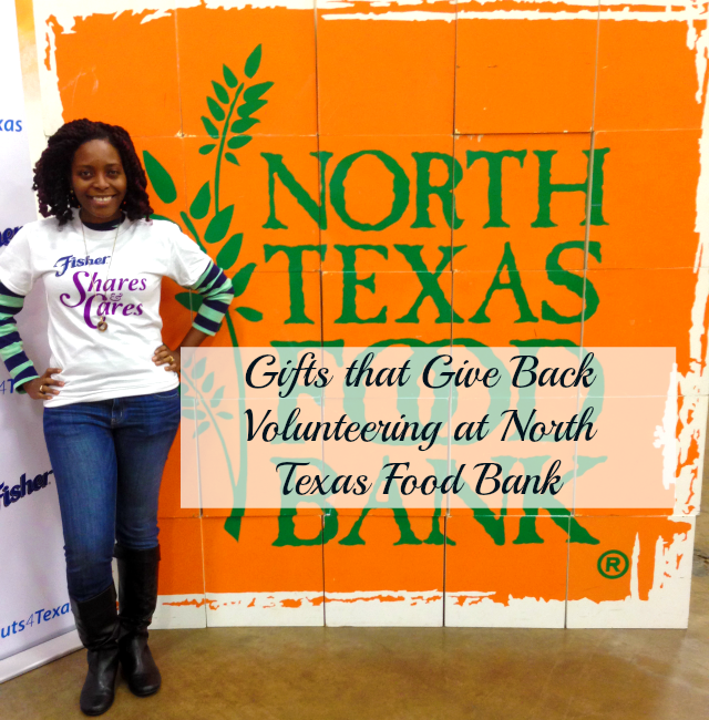 Volunteering at North Texas Food Bank