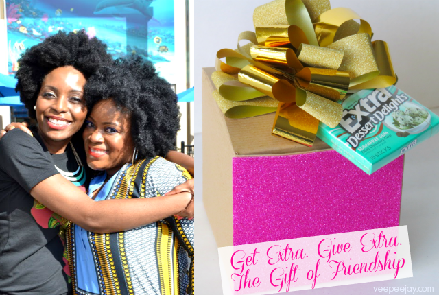 #ExtraGumMoments. Get Extra, Give Extra. Celebrating the Gift of Friendship #cbias #shop #Ad
