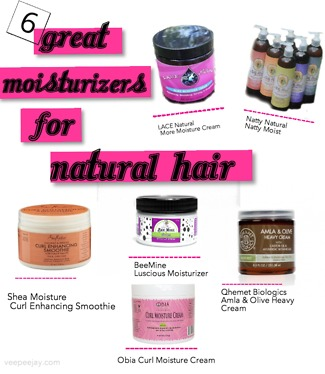 17 Great Moisturizers for Natural Hair - VeePeeJay