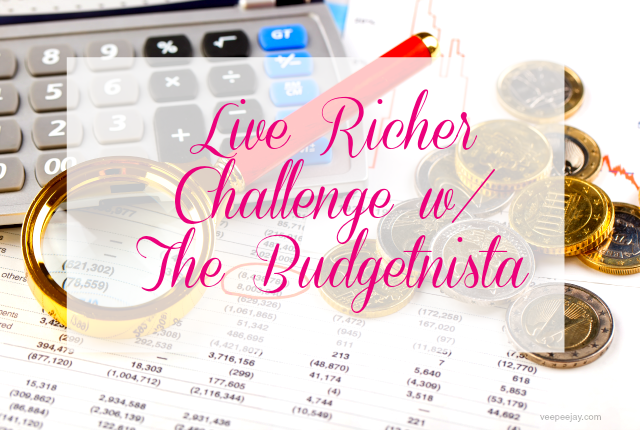 Live Richer Challenge | The Budgetnista