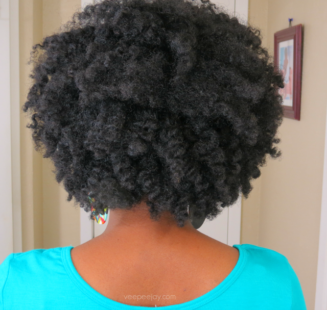 Twist out on Natural 4b 4c Hair