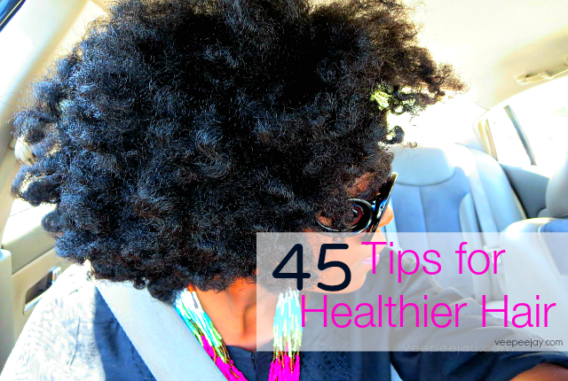 Tips for Healthier Natural Hair