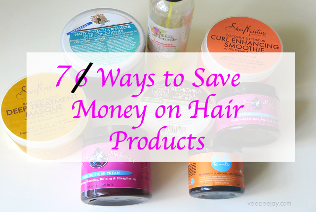 Saving Money on Natural Hair Products
