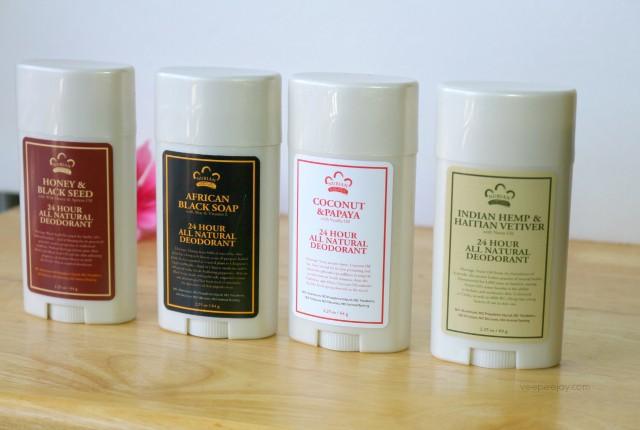 Nubian Heritage All Natural Deodorant