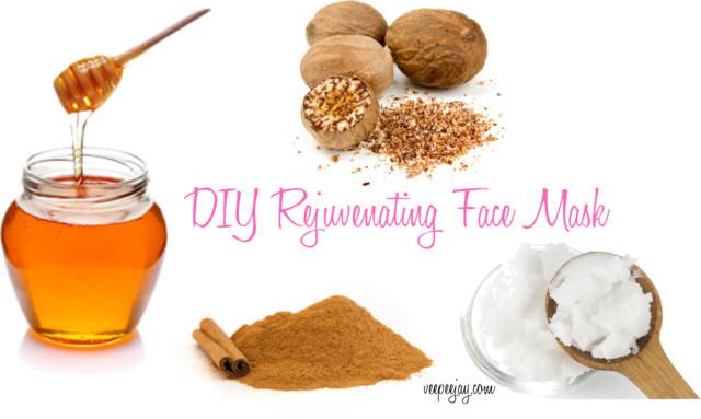 DIY Rejuvenating Face Mask