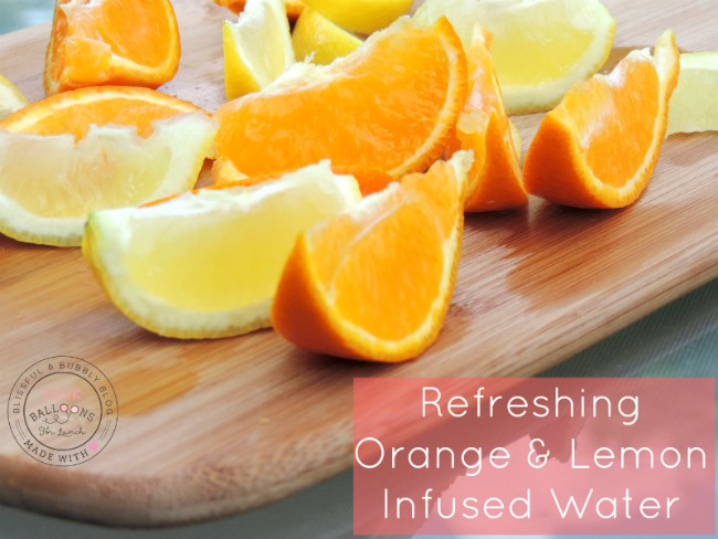 how to make lemon infused water
