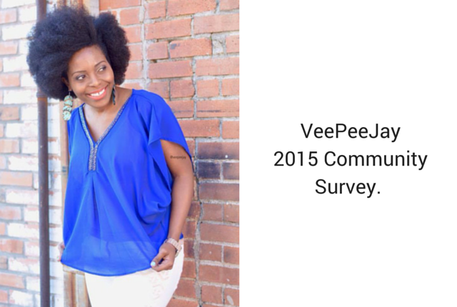 VeePeeJay Reader Survey 2015