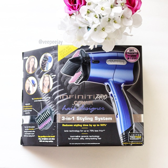 Conair 3 in 1 Hair Designer Styling System