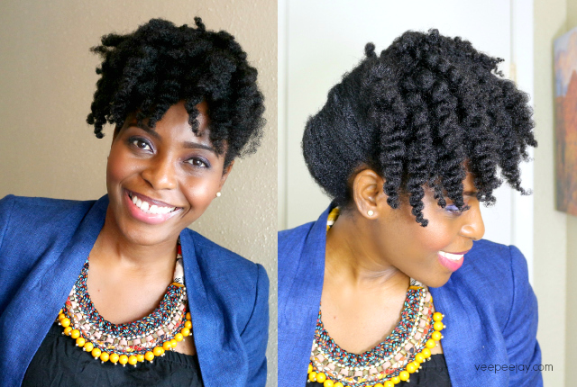 Easy Updo Styles For Natural Hair