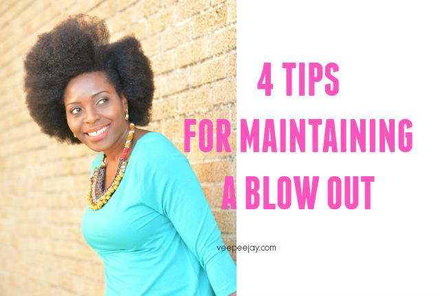 Blow Drying C Natural Hair
