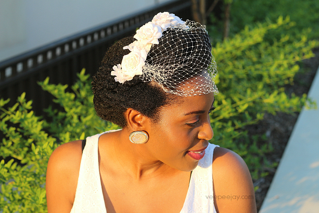 Easy Vintage Wedding Hairstyle For Natural Hair Veepeejay
