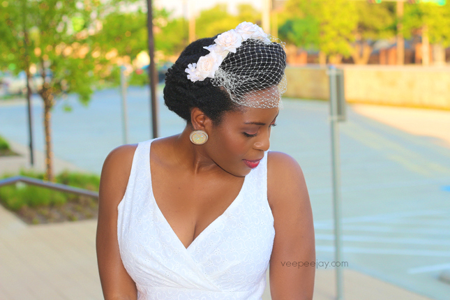 Vintage Bridal Style for Natural Hair