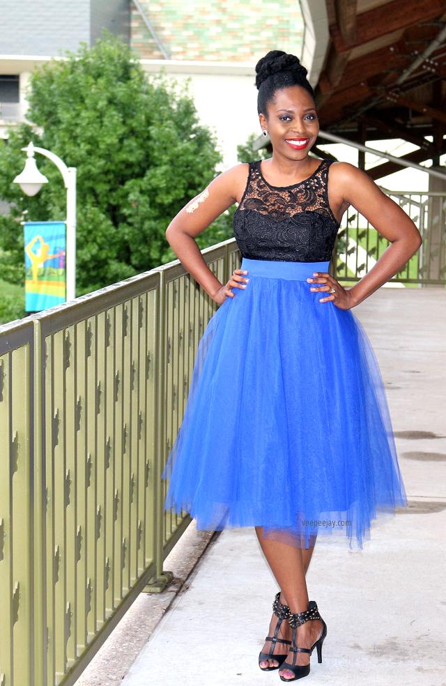 Blue Tulle Skirt - VeePeeJay