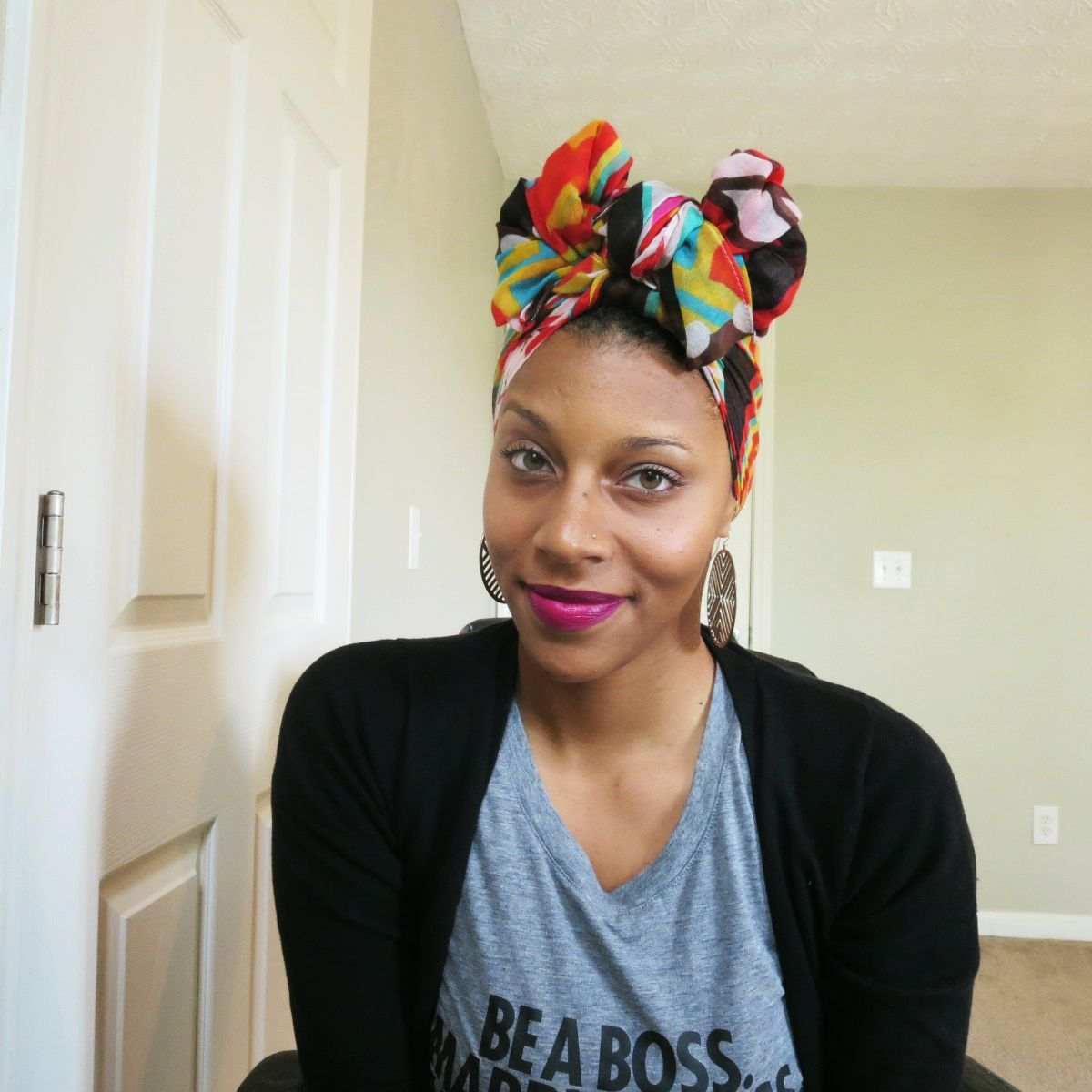 Easy turban head wrap tutorial veepeejay turban tutorial mommy week baditri Images