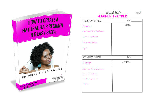 Free Guide: Creating A Natural Hair Regimen
