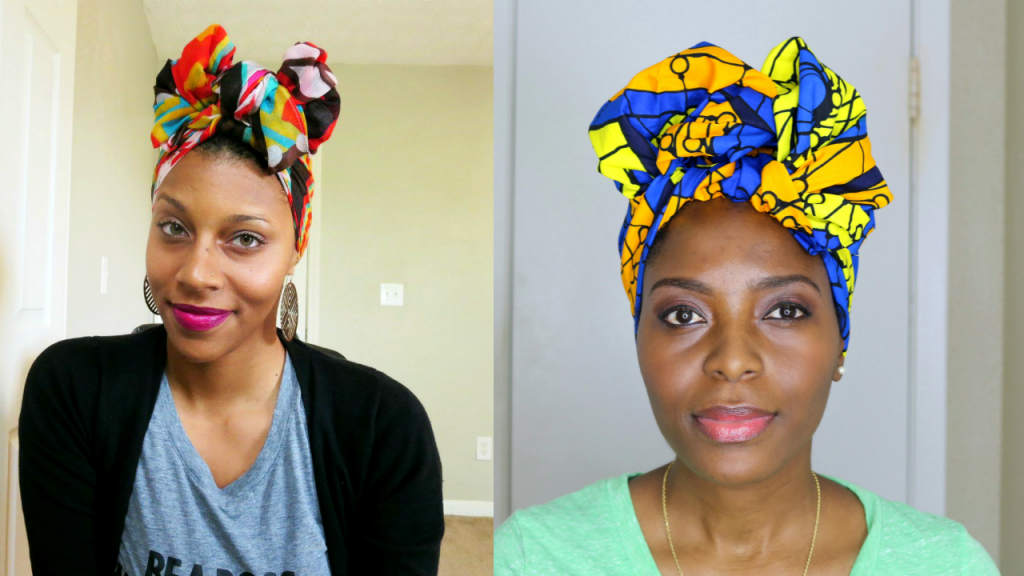 Turban/Head Wrap Tutorial with Mommy Week