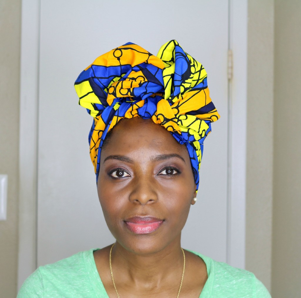 Easy Turban Head Wrap Tutorial Veepeejay