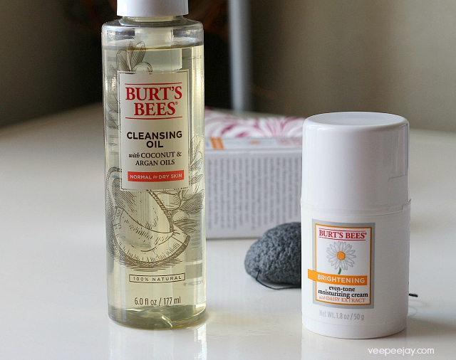 burts-bees-cleansing-oil-even-tone-moisturizing-cream-veepeejay