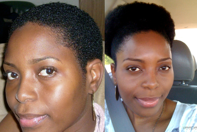 Natural Hair Process Big Chop